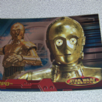 Star Wars Evolution topps 2001 C-3PO foil card